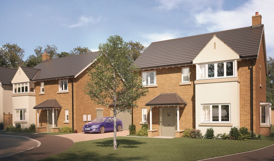 A CGI of Wexham Green, Berkshire. Call 01753 468578