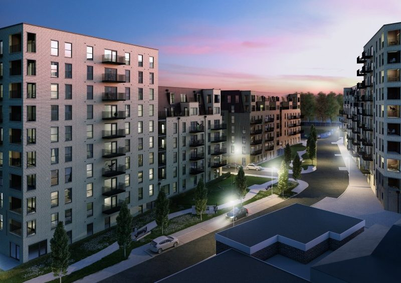 External CGI of Trinity Walk, Woolwich by Lovell Homes