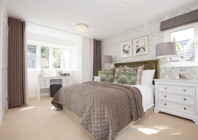 Interior of The Elm showhome at Wexham Green. Call 01753 46878