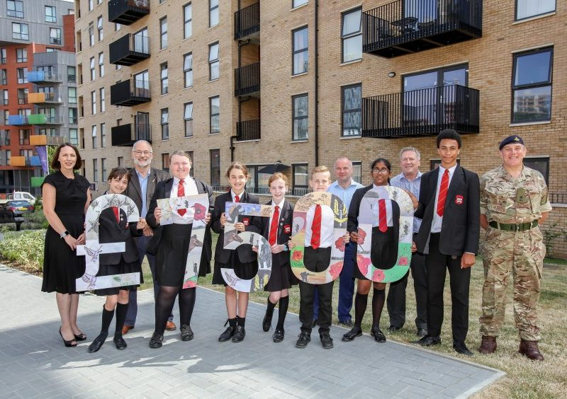 Lovell Homes donates £7,500 to Help for Heroes